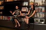 After reading from LNTD, Lisa Ling interviewed me