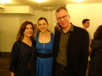 With publicists Alan Winnikoff and Carina Sayles