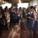 Reading at LNTD's New York Release Party