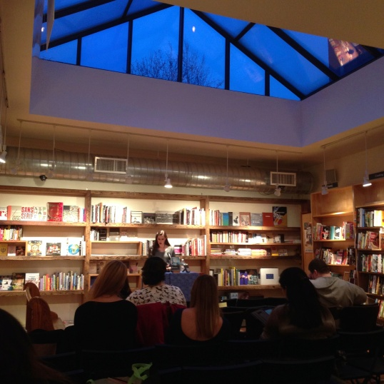 Reading at Book Court